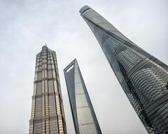 Supertall and Megatall Skyscrapers (StefSup) Tags: china nikon shanghai pudong d800 24mmf14