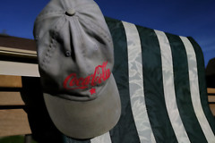 commie coke hat (It'sGreg) Tags: cocacola ironphotographer utata:project=ip231 criticallyimportantmorelhuntinggear blurrygoodnessfortheipgig