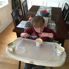 """Paul Eats a LOT of Yogurt • <a style=""""font-size:0.8em;"""" href=""""http://www.flickr.com/photos/109120354@N07/26049927425/"""" target=""""_blank"""">View on Flickr</a>"""