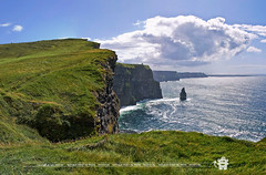 Falaises de Moher - Irlande (woot-it photographie) Tags: ireland clare burren cliffsofmoher moher falaises irelande cliffsmoher falaisesdemoher