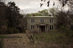 tucked away (History Rambler) Tags: old house abandoned rural south antebellum ohmy