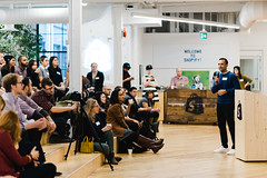 CMTO 29 with Mark Raheja (CreativeMornings/Toronto) Tags: toronto creativity cmto shutterstock shopify markraheja creativemornings creativemorningstoronto breakfastlecture cmchange augustpublic