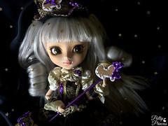 Starlit Night (Pullipprincess) Tags: black cute dark stars doll dolls kawaii groove pullip pullips junplanning jpgroove grooveinc varele pullipvarele