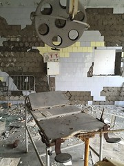 Pripyat Hospital maternity/gynaecology ward