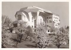 Ansichtkaart Goetheanum freie hochschule fur geisteswissenschaft (dickjan thuis) Tags: architecture fur freie hochschule goetheanum ansichtkaart geisteswissenschaft