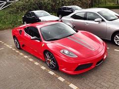 Ferrari 430 Scuderia (Richard de Heus) Tags: red utrecht ferrari scuderia supercar 430 louwman ferrari430scuderia louwmanexclusive