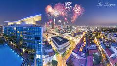 TI YU SAIGON  (L Quyn | 01239.369.779 |) Tags: city skyline firework vietnam chi ho minh saigon hoa pho citycapse