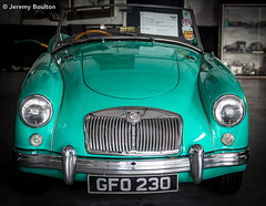 MG2 (JKmedia) Tags: old red green cars car vintage jack benz shiny technology open garage wheels progress retro mg workshop manmade vehicle morgan bonnet beaulieu manufactured relic yesteryear garages canoneos7dmarkii boultonphotography morgangarages