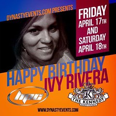 Birth day history! Celebrating 4 years with #dynastyevents join me this weekend! Friday at #BlueMartiniTampa and Saturday #Jacksons super excited #Ivy2paradise (ParadiseIvy) Tags: jacksons bluemartinitampa dynastyevents ivy2paradise