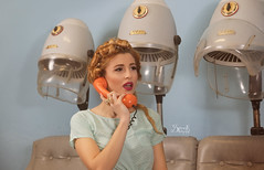 Pinups with Ellie at Retrosexual: At the hairdresser's again, and a phone-call (SpirosK photography) Tags: portrait vintage phone ellie phonecall hairdresser pinup hairdressers alvina retrosexual jerryscott pinupphotography spiroskphotography elisavetlatsiou ellieroussou constandinariza alvinahairstylist