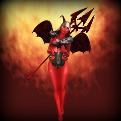 The Devil wears Red (eloen.maerdrym) Tags: red nc horns medieval fantasy mango devil collective fairplay the gor nanika gorean mangomoon thealchemy wltb vengefulthreads welovetoblog noblecreations ichuly eloensotherworld