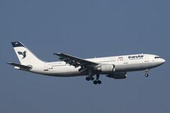 EP-IBD Airbus A.300B4-605R Iran Air (pslg05896) Tags: lhr egll london heathrow epibd airbus a300 iranair
