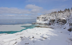 Bruce Peninsula National Park (Note-ables by Lynn) Tags: winter snow ontario outdoor georgianbay nationalparks winterlandscape brucepeninsulanationalpark brucecounty