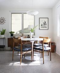Diningroom (Kimberly Rhodes Roberts) Tags: georgenelson knoll midcenturymodern danishmodern arnevodder