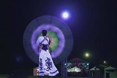 Tanoura Dance at Desert Safari (lfeng1014) Tags: longexposure travel dubai nightshot uae motionblur unitedarabemirates motionshot desertsafari safaricomp canon5dmarkiii tanouradance 2470mmf28lii