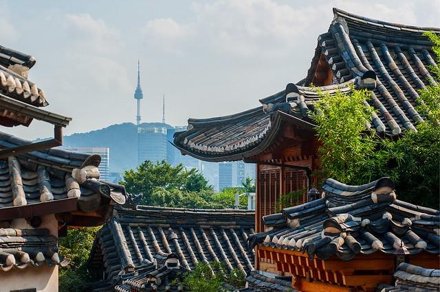 北村韓屋村(ブッチョンハンオクマウル)&景福宮(キョンボックン)&博物館ツアー