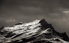 Icy Mountain (chris.regg) Tags: winter blackandwhite bw mountain snow ice landscape mono noiretblanc d800