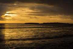 Hilbre Island Golden Hour (David Chennell - DavidC.Photography) Tags: silhouette goldenhour westkirby hilbreisland