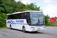 W & M Travel N760NAY 'Jake' Felixstowe July 2001 (The original SimonB) Tags: 2001 film buses transport july scanned
