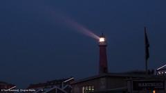 Glow in the dark (Tom Koedood) Tags: road trip blue sunset sky sun lighthouse holland netherlands sunshine tom zonsondergang media blauw shine diverse scheveningen den nederland roadtrip hague lucht haag zon vuurtoren koedood diversemedia tomkoedood rt120316