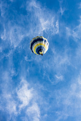 Central Heating (A Different Perspective) Tags: newzealand wairarapa air balloon blue fiesta hot morning rainbow sky