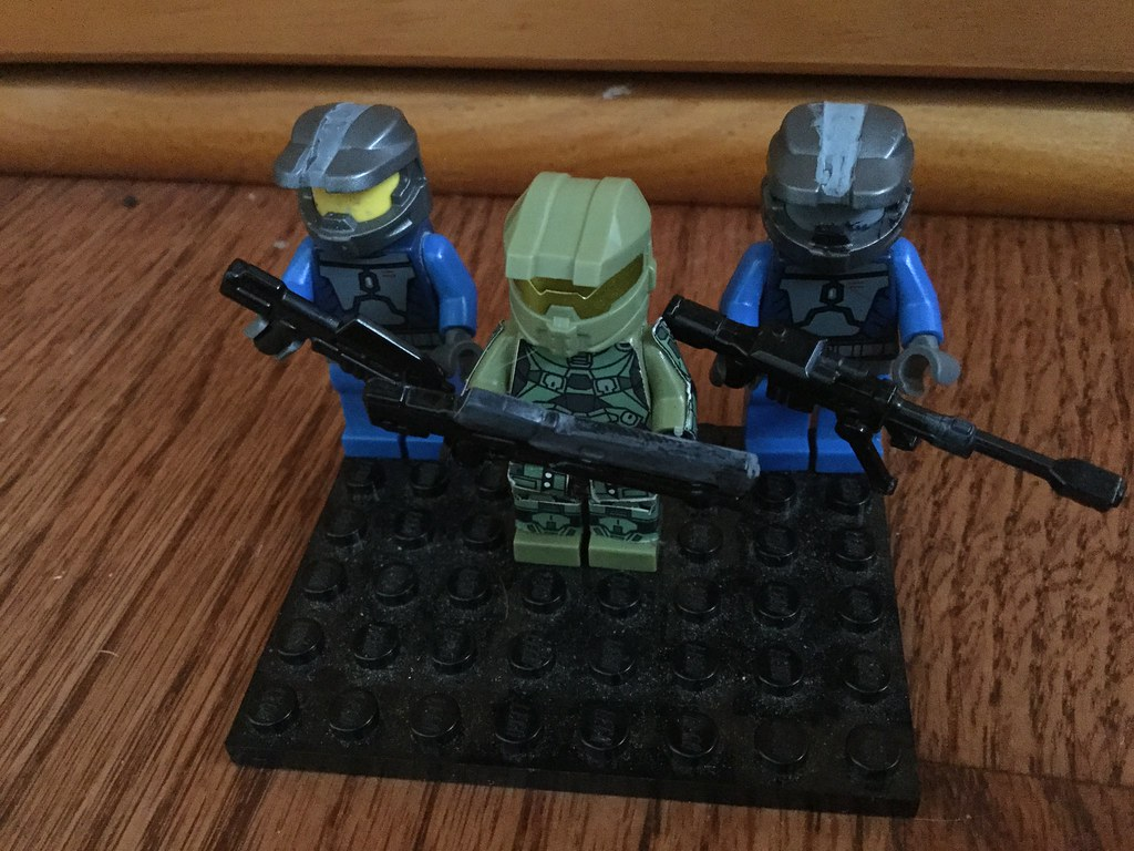 The world 39 s best photos of lego and spartan flickr hive mind - Lego spartan halo ...