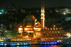 Istanbul (petrk747) Tags: voyage panorama travelling history monument architecture turkey istanbul mosque goldenhorn galatabridge yenicami newmosque