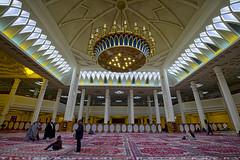 Inside the Shah-e-Cheragh mosque (T   J ) Tags: iran fujifilm shiraz xt1 teeje fujinon1024mmf4