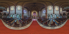St. Sebastian (Berlin-Wedding) (ako_law) Tags: panorama church interior hdr 360x180 ptgui equirectangular churchinterior nodalninja canoneos6d nodalninja3markii samyang14mm stsebastianwedding stsebastianberlinwedding