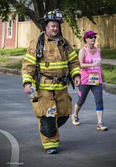 13 Miles in Full Gear (Kool Cats Photography over 7 Million Views) Tags: marathon photojournalism run event firefighter halfmarathon ef24105mmf4lisusm fullgear canoneos6d 2016okcbombingmemorialmarathon