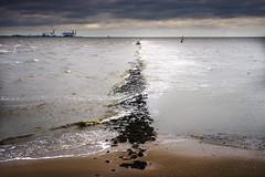Eckwarden at the North Sea (Helmut Wendeler aus Hanau) Tags: meer helmut nordsee northsee eckwarden wendeler