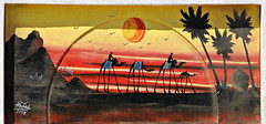 Dahab 2016 - Graffiti on Peace Road by Ahmed 02 (Markus Lske) Tags: street streetart art graffiti mural arte kunst dahab egypt urbanart graffito muralha gypten sinai aegypten lueske lske