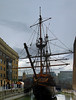 More miles to the galleon (beqi) Tags: panorama london history boat woodwork goldenhind photoshoppery 2016