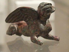 Sphinx (failing_angel) Tags: usa newyork manhattan 5thavenue metropolitanmuseumofart shinx bronzestatuette 290515