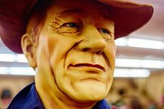 John Wayne (FunkadelicSam) Tags: art john weird hilarious model thing wayne