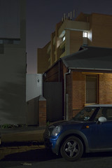 Untitled (Ranga 1) Tags: longexposure nightphotography urban car night canon still lowlight quiet collingwood australian australia melbourne victoria suburbs lonely urbanlandscape nightexposure davidyoung lowlightphotography ef1740mmf4lusm innersuburbs innermelbourne canoneos5dmarkiii