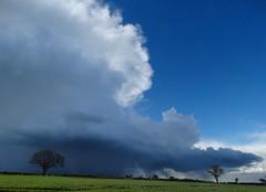 A passing shower! (rockwolf) Tags: rain weather hail clouds shower shropshire cloudscape cloudburst aprilshowers haughmondhill rockwolf