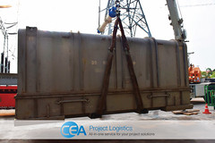 CEA Myanmar Complete Gas Turbine Transportation & Export (CEA Project Logistics) Tags: japan project thailand lift ride flat yangon burma air gas chain rack transportation myanmar trailer shipping heavy turbine logistics customs supply export unit cea