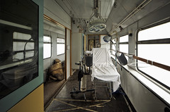 medical train ([AndreasS]) Tags: old abandoned lamp mobile train hospital germany deutschland decay interior creepy medical health doctor forgotten medicine inside operation healing movable urbex