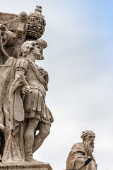 august company (mym) Tags: vatican rome statue statuary sanpietro may2013