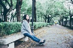 Rena in  (Mr.Sai) Tags: portrait girl k analog 35mm nikon fuji taiwan f2 nikkor fm2   cinefilm nonai   400t  8583 ecn2