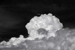 Ether (George Pancescu) Tags: blackandwhite cloud white black monochrome clouds contrast landscape nikon natural air cumulus cloudscape 70200mm d810 outstandingromanianphotographers