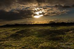 DSC_6528_Lr-edit (Alex-de-Haas) Tags: light sunset reflection netherlands clouds landscape fire licht zonsondergang nederland thenetherlands wolken dyke dijk dike landschap noordholland vuur reflectie petten coastalarea spreeuwendijk kunstgebied