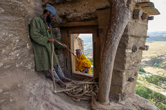 debre damos .Ethiopia (courregesg) Tags: travel people pope history traditional religion culture tribal christian tradition anthropologie ethiopia tribe ethnic orthodoxe civilisation gens monastry ethnology historicalplace ethnographie