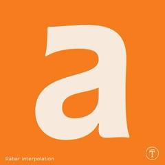 Rabar interpolation plan #Typography #typedesign #Tapatipo #typeface (Gen Ramrez) Tags: typography typeface typedesign tapatipo