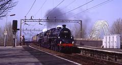 """Runcorn first steam! (The """"8A Rail"""" Collection) Tags: britannia runcorn 70000 britanniabridge brstd4 brspecialtrains"""