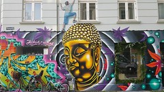 Kdbyen, Kbenhavn... (colourourcity) Tags: streetart denmark graffiti buddha awesome burner joiner kbenhavn nofilters streetartcopenhagen graffiticopenhagen denmarkstreetart colourourcity winter2015 colourourcitycopenhagen colourourcitykbenhavn