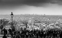 Paris, Montmartre, 2 (Patrick.Raymond (2M views)) Tags: panorama expressyourself franceparismontmartre argentiquetmaxbwnikonsamyang