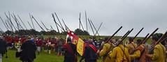 Re-enacting the Battle of Naseby - 370th annerversary. (greentool2002) Tags: english war battle civil reenacting naseby annerversary 370th