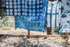 lovely blue things () Tags: indigo craft melbourne workshop dye dyeing shibori sonya7  sel35f28z
